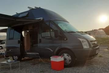 Wohnmobil mieten in Karlsruhe von privat   Ford Tony