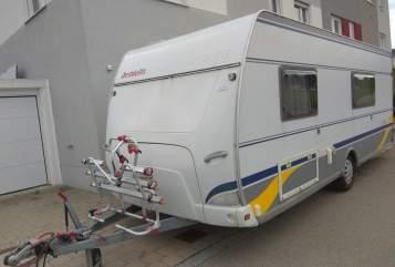 Wohnmobil mieten in Gersthofen von privat   Dethleffs Wohnwagen Hilde