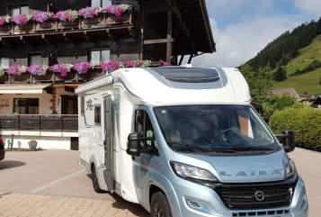 "Wohnmobil mieten in Waldems von privat | Laika ""Taunus Laika"""