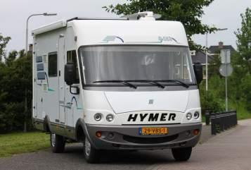 Wohnmobil mieten in Lisse von privat   Hymer Hymer Integraal