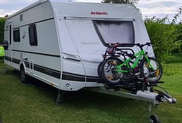 Wohnmobil mieten in Bad Sobernheim von privat | Dethleffs  Wohnwagen Nomad