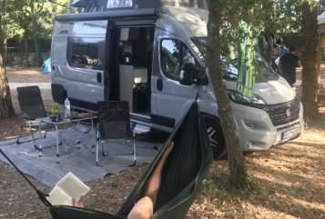 Wohnmobil mieten in Freiburg im Breisgau von privat | Pössl Salvatore