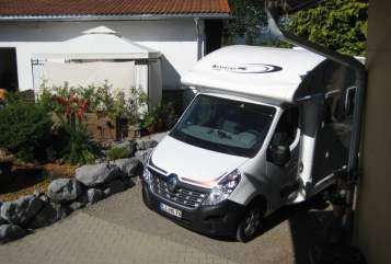 Wohnmobil mieten in Maierhöfen von privat | Ahorn Schatzi