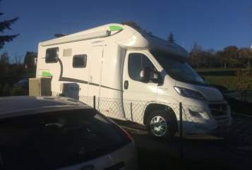 Wohnmobil mieten in Uffing am Staffelsee von privat | Forster Womi
