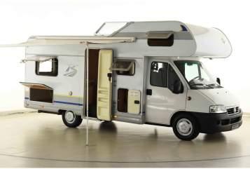 Wohnmobil mieten in Nienhagen von privat | Fiat Bürstner Toms Bürstner