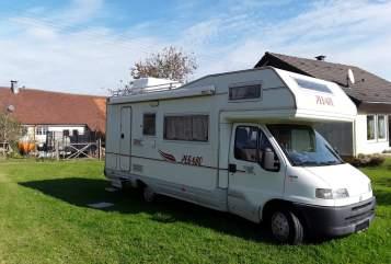 Wohnmobil mieten in Krauchenwies von privat | Fiat Pegasus