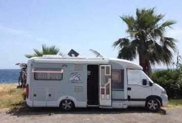 Wohnmobil mieten in Gees von privat | Knaus Sunny Traveller