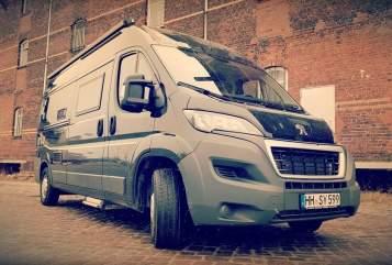 Wohnmobil mieten in Hamburg von privat | BRAVIA BLACK SWAN