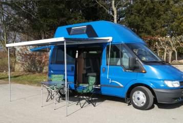 Wohnmobil mieten in Hamburg von privat | Ford Blue Marlin