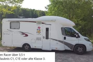 Wohnmobil mieten in Lindlar von privat | Euramobil Wappen Racer