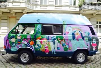 Wohnmobil mieten in Berlin von privat   VW Fidibus