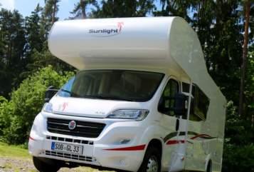 Wohnmobil mieten in Schrobenhausen von privat | Fiat Ducato Glücksmobil