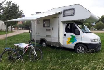 Wohnmobil mieten in Chemnitz von privat | Fiat Ducato Alkoven Womo