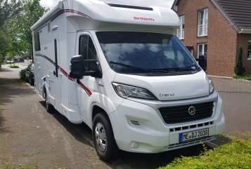 Wohnmobil mieten in Langenfeld (Rheinland) von privat | Dethleffs Globus-Camper