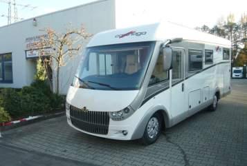 Wohnmobil mieten in Gütersloh von privat | Carthago  Carthago chic c-line I 4,8 heavy Modell 2018