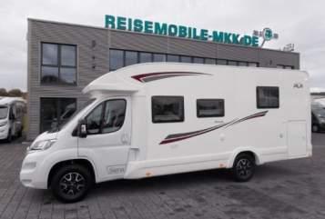 Wohnmobil mieten in Schwetzingen von privat | PLA  Ursula