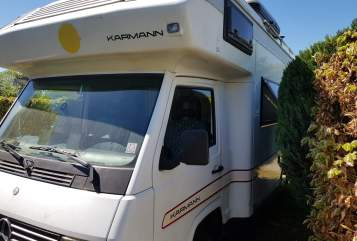 Wohnmobil mieten in Bonn von privat | Mercedes MB100 Relaxo