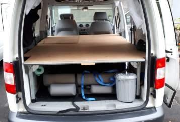 "Wohnmobil mieten in Berlin von privat | Volkswagen  Minicamper ""Biggy"""