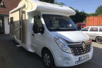 Wohnmobil mieten in Bad Segeberg von privat | Ahorn  Ahorn Kentucky LG mit Standklima für den richtigen Sommer + 2xTV+SAT