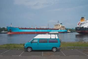 Wohnmobil mieten in Heuchelheim von privat | Volkswagen Die Schildkröte