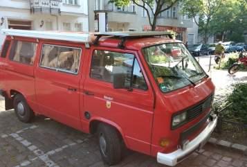 Wohnmobil mieten in Berlin von privat | VW T3  Herr Bünsdorf