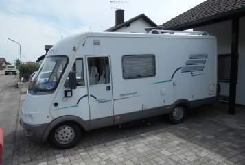 Wohnmobil mieten in Hepberg von privat | Hymer Hymi