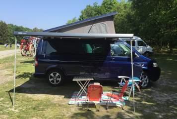 Wohnmobil mieten in Soest von privat | Volkswagen T5 Sport en fietscamper