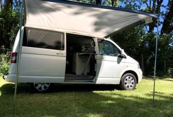 Wohnmobil mieten in Landsberg am Lech von privat   Volkswagen White Ride