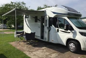 Wohnmobil mieten in Gudensberg von privat    Chausson  Unser Reisewagen2