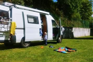 Wohnmobil mieten in Freiburg im Breisgau von privat | Peugeot Schwabenmobil Bussle