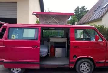 Wohnmobil mieten in Kranzberg von privat | Volkswagen Elli