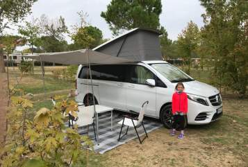 Wohnmobil mieten in Nuthetal von privat   Mercedes Benz Marco Polo