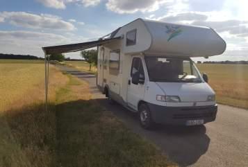 Wohnmobil mieten in Ahrensfelde von privat | Fita Ducato  Klausi