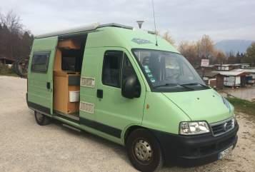 Wohnmobil mieten in München von privat | Fiat Campervan