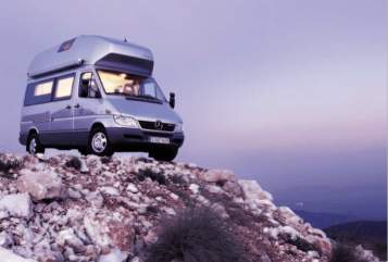 Wohnmobil mieten in Seeshaupt von privat | Mercedes James