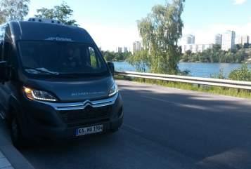 Wohnmobil mieten in Karlsruhe von privat | Pössl Grashüpfer