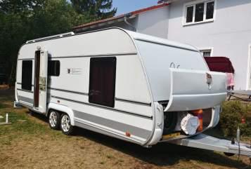 Wohnmobil mieten in Burgstädt von privat   Tabbert Luise