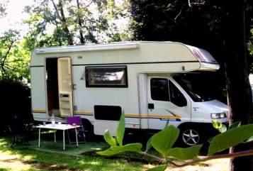 Wohnmobil mieten in Bonn von privat   Fiat Womo100