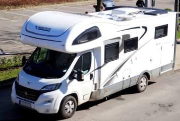 Mobilvetta Kea M76 Wohnmobil Wohnmobil Liebling, von privat mieten in Laboe
