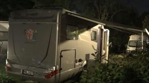 Wohnmobil mieten in Mühlhausen/Thüringen von privat   Hymer  Gerry