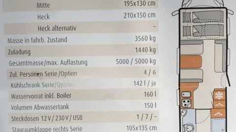 Wohnmobil mieten in Wuppertal von privat   Dethleffs Dicker 2.0