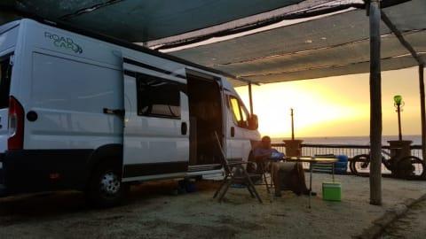 Wohnmobil mieten in Übersee von privat   Pössl CaWo