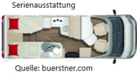 Wohnmobil mieten in Wienhausen von privat | Bürstner Allerstrand 1
