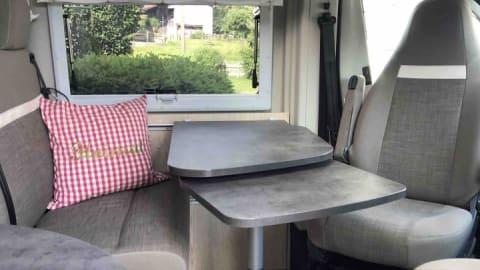 Wohnmobil mieten in Sachsenkam von privat   Pössl  Bruno