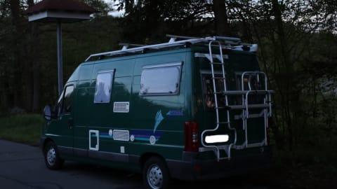 Wohnmobil mieten in Tübingen von privat   Pössl Der Grüne