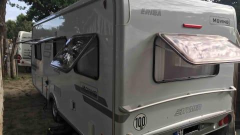 Wohnmobil mieten in Berlin von privat   HYMER HYMER Moving530