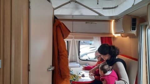 Wohnmobil mieten in Marktheidenfeld von privat   Hymer Rockabilly