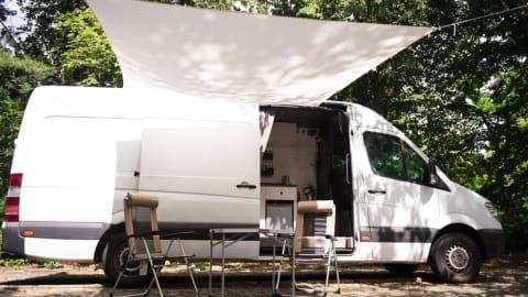 Wohnmobil mieten in Berlin von privat   Mercedes Benz Homie