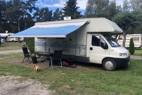 Wohnmobil mieten in Lossatal von privat | Fiat Rollerteam Arnis Wohnmobil