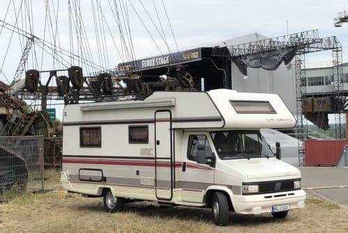 Wohnmobil mieten in Hof von privat | Fiat Ducato Karlheinz